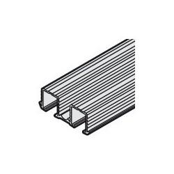 402.33.652 Slido Classic kétrészes bemarható felső sín 2500mm