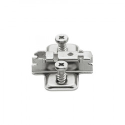 173L8130 CLIP 3 mm-es eurocsavaros keresztalakú szerelőtalp