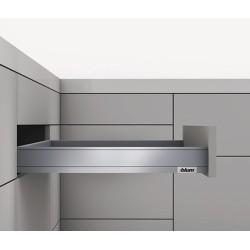 LEGRABOX pure N garnitúra Tip-On 500mm 70kg Selyemfehér