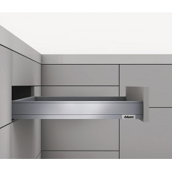 LEGRABOX pure N garnitúra Tip-On+Blumotion 450mm 40kg Inox