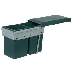 502.72.761 Hailo dupla hulladékgyűjtő 2x15 liter