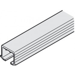 405.00.613 EKU Clipo bemarható felső sín 3500mm Alumínium
