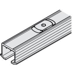 405.00.642 EKU Clipo bemarható felső sín 2500mm Alumínium