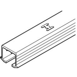 405.00.622 EKU Clipo bemarható felső sín 2500mm Alumínium