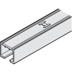 405.00.632 EKU Clipo csavarozható felső sín 2500mm Alumínium