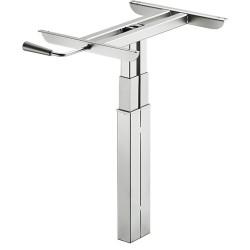 638.50.553 állítható magasságú asztalláb 430-620mm
