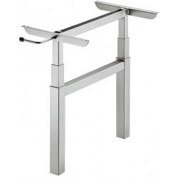 638.56.523 állítható magasságú asztalláb 430-620mm
