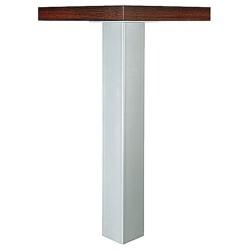 635.67.904 világos szürke acél asztalláb 705x100x100mm