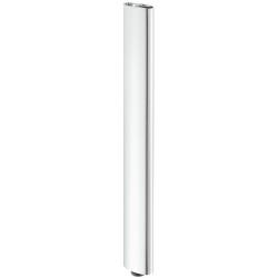 635.67.224 polírozott króm acél asztalláb 101x50,8mm