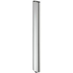 635.67.924 világos szürke acél asztalláb 101x50,8mm