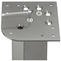635.67.990 világos szürke asztalláb felfogató 162mm