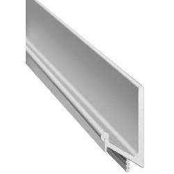 126.35.925 alumínium ezüst fogantyúprofil 2500mm