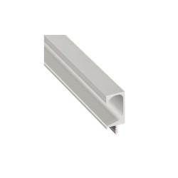155.01.150 alumínium ezüst fogantyúprofil 2500mm
