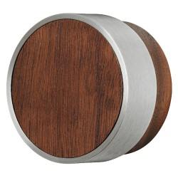 194.02.700 lakkozott dió/rozsdamentes acél színű 48x25 mm