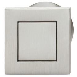 151.67.012 rozsdamentes acél színű 40x40mm