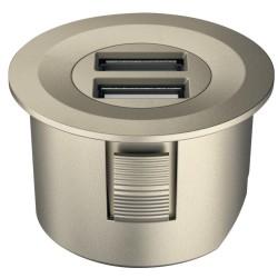833.73.753 Loox USB csatlakozó 12V Matt nikkel