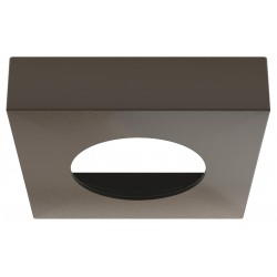 833.72.196 Loox LED keret 65x65mm Barna