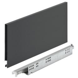 552.23.564 Matrix Box Slim A30 Push to Open antracit fiók szett 16/175/450mm
