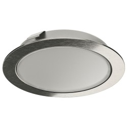833.72.390 Loox LED 2047 meleg fehér 12V/3W Rozsdamentes acél színű