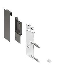 ZI7.3CS0 Legrabox előlaprögzítő belső fiókhoz C magasság korláttal Orionszürke matt