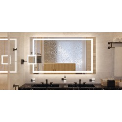 983.19.021 Aquasys fürdőszoba tükör 900x900x54mm