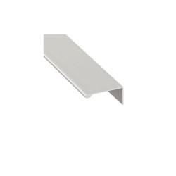 126.14.901 alumínium ezüst fogantyúprofil 2500mm