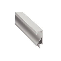 126.39.925 alumínium ezüst fogantyúprofil 2500mm