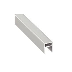 126.91.904 alumínium ezüst élprofil 2500mm
