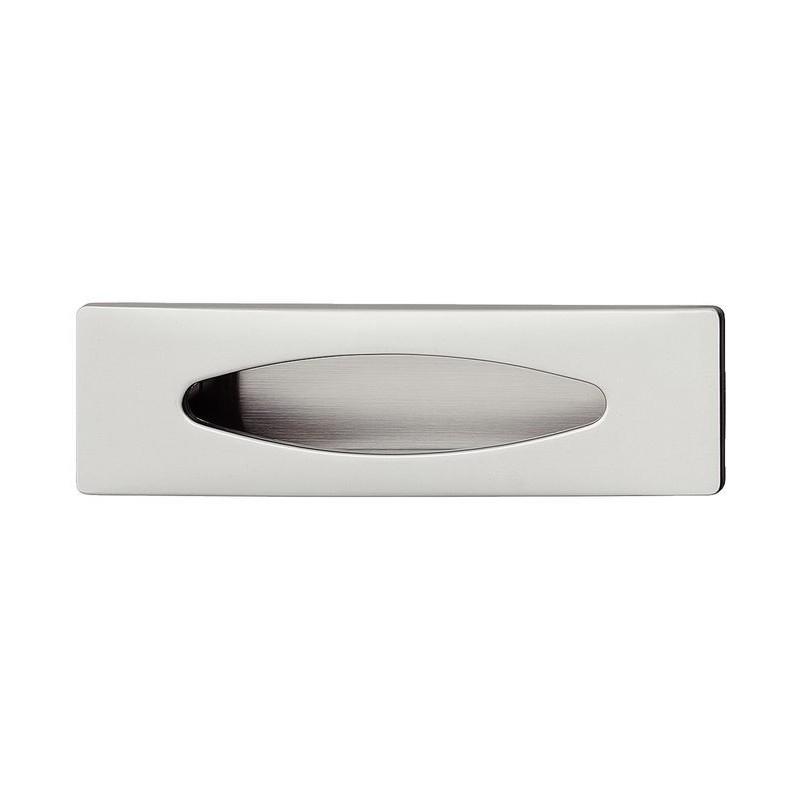 151.74.002 rozsdamentes acél színű 128x37mm