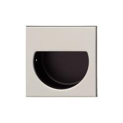 152.57.000 rozsdamentes acél/matt fekete 47x47mm