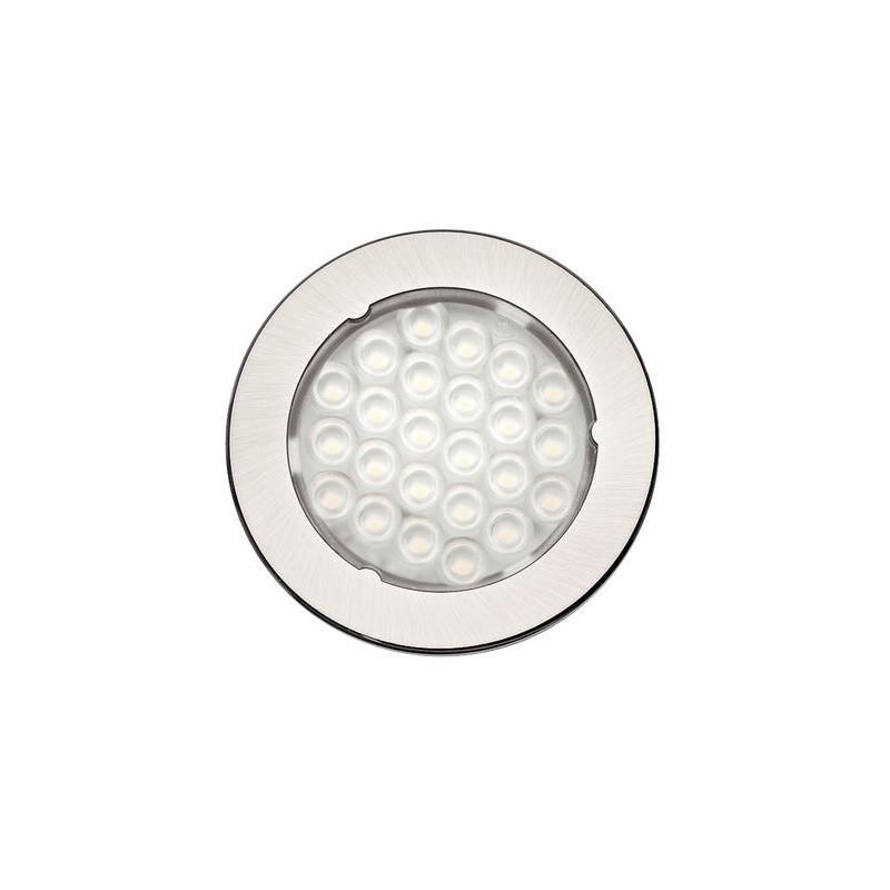 LED 1075 hideg fehér Inox
