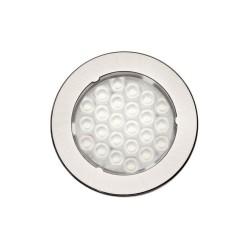 LED 1075 meleg fehér Inox