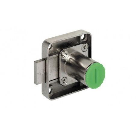 232.26.620 csavarozható bútorzár rövid zárnyelvvel 22mm (lad)