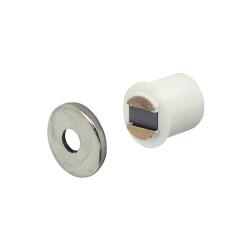 Mágneszár 9mm fehér