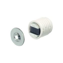 Mágneszár 13,6mm fehér