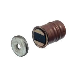 Mágneszár 13,6mm nikkel