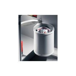 502.12.023 HAILO Egyrészes hulladékgyűjtő 15liter Inox