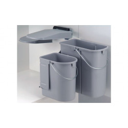 Dupla hulladékgyűjtő
