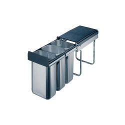 Háromrészes hulladékgyűjtő 3x10liter