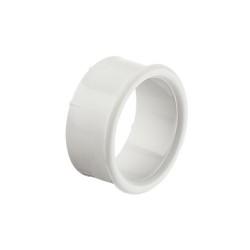 Műanyag szellőzőgyűrű fehér