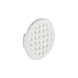 Szellőzőrács fehér 31mm