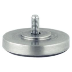 Alumínium bútorláb menetes csappal 14mm