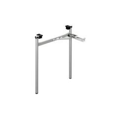 Összecsukható szürke asztalláb H típus