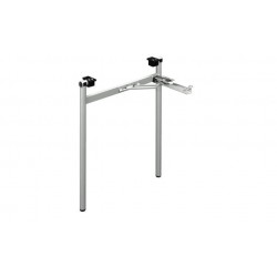 Összecsukható króm asztalláb H típus