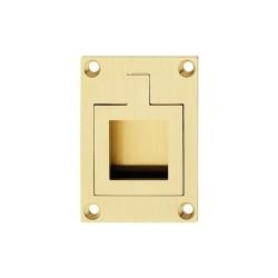 161.15.530 arany színű matt 47,5x66 mm