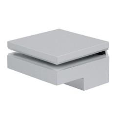 284.05.940 alumínium színű konzol 6-40 mm